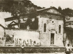 Original photograph of the Church of Santa Maria delle Grazie in Zakynthos, Greece