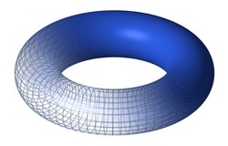 Torus - By LucasVB [Public domain], via Wikimedia Commons