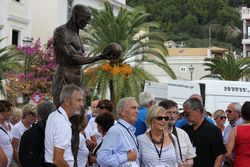 Unveiling of the New Vesalius Statue in Zakynthos